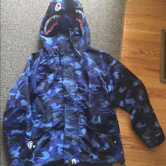 7e67537927 Bape Jackets & Coats | Windbreaker | Poshmark
